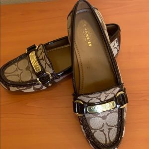 Brand New Coach Patent Leather Loafers